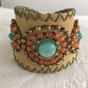 Jewelry - Beaded Cuff. Add the pop to any outfit!